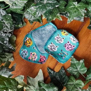 Cool cats washable face wipes made by ooh betty